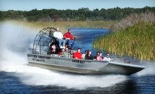 One-Hour Airboat Nature Tour for One or Two from Boggy Creek Airboat Rides (Up to 52% Off)