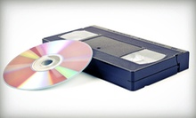 Videotape-to-DVD Conversion for 5, 10, or 20 VHS, VHSC, or MiniDV Tapes at Zichronot Video Productions (Up to 65% Off)
