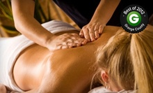 $29 for a One-Hour Massage Relaxation at a Certified Clinic from OolaMoola (Up to $90 Value)