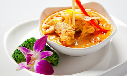 $17 for $25 Worth of Thai Food and Sushi at Orchid Thai & Sushi