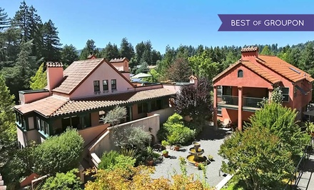 groupon daily deal - 2-Night Stay for Two with Wine and Dinner Package at Applewood Inn in Sonoma County, CA