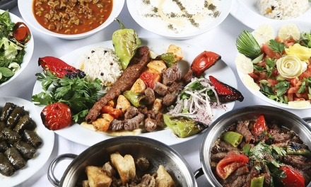 BYOB Turkish-American Cuisine at Cafe Divan (Up to 52% Off). Three Options Available.