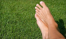 Podiatric Consultation or Laser Toenail-Fungus Removal for One or Both Feet at Global Podiatry (Up to 59% Off)