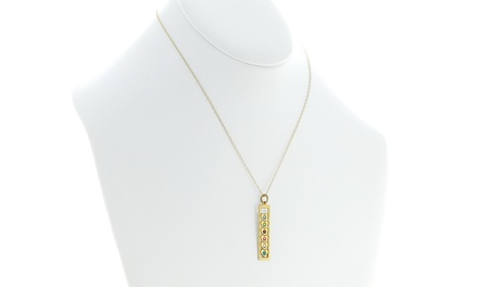 Monogram Online Bar Heart Necklaces in Silver or Gold Over Silver Available from $24.99—$29.99