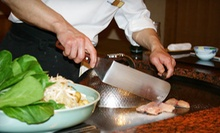 Japanese Dinner with Appetizers for Two or Four at Hikari Japanese Steakhouse (Up to 53% Off)
