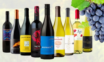 6 or 12 Bottles of Curated Premium Wines Delivered from Heartwood & Oak Wine Merchants (Up to 83% Off)