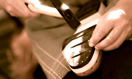 Cobbler Services and Shoe Repair at The Heel Bar (Up to 50% Off). Two Options Available.