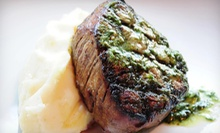 Steak-House Meal with Drinks for Two, Four, or Six at Jim Edmonds 15 Steakhouse (Up to 51% Off)