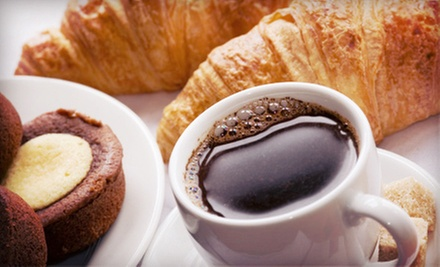 Café Drinks and Pastries for Two or Four at Something Sweet Coffee & Bakery (Up to Half Off)