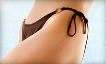One or Three Bikini Waxes at Luxury Nails and Spa (Up to 56% Off)