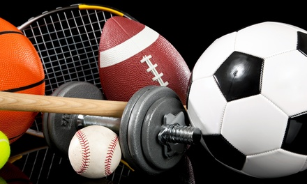New and Gently Used Sports and Fitness Equipment at Play It Again Sports (50% Off). Two Options Available.