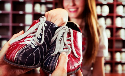 $19 for Two Hours of Bowling Including Shoe Rental for Up to Five at Fun Fest Entertainment Center (Up to $48.50 Value)