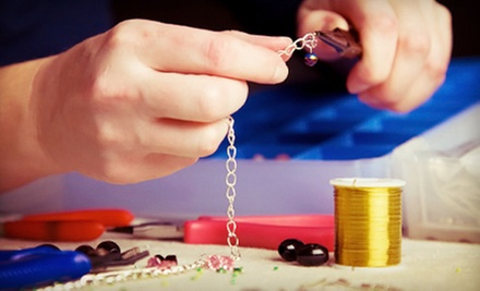 Jewelry-Making Class with Material Credits for One, Two, or Four at Roma Creations (Up to 68% Off) 
