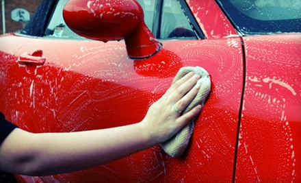 Express or Bumper-to-Bumper Detail with Voucher for a Platinum Car Wash (Up to 53% Off)