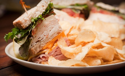 $9 for Three Groupons, Each Good for $6 Worth of Café Cuisine at Bloom's Lunch Cafe ($18 Total Value)
