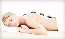 One-Hour Hot-Stone Massage with Optional Mani-Pedi at Ageless Beauty Day Spa (Up to 55% Off)
