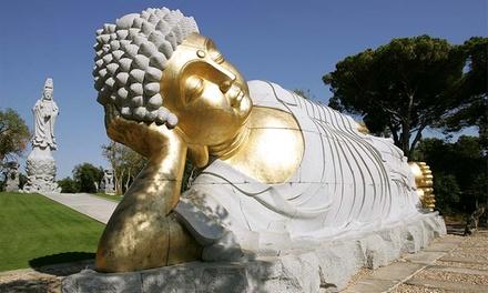 Quinta da Azenha dÓbidos: 1 ou 2 noites para dois com pequeno-almoço e bilhetes para o Buddha Eden desde 49€