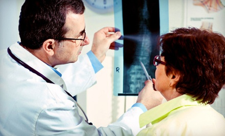 Exam with X-rays and Option of One or Three Follow-Up Adjustments at Pamer Family Chiropractic (Up to 89% Off)