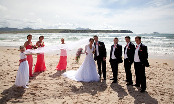 Ballyliffin Lodge - Inishowen: Wedding Package With Four-Course Meal, Toast Drink and Evening Buffet for £1,599 at 4* Ballyliffin Lodge & Spa (54% Off)