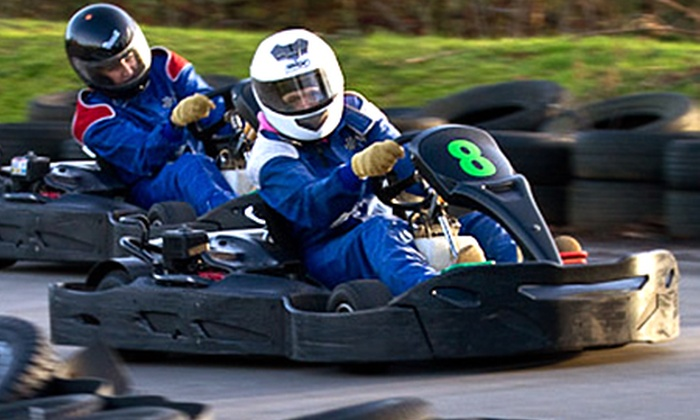 West country karting - Bristol: West Country Karting: 80 Laps for One, Two, or Four from £18 (Up to 73% Off)