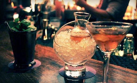 Cocktails and Small Plates for Two or Four at Jbird (Up to 63% Off)