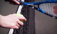 Four Weeks of Beginner Tennis Lessons at Oak Brook Racquet & Fitness Club (51% Off). Three Options Available.