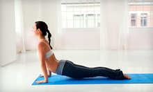 Saturday or Sunday Yoga Workshop or 10 Yoga Classes at Wellness By All Means (Up to 81% Off)
