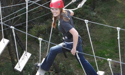 Four Hours of Open-Play Rope Courses for One, Two, or Four at Summit Vision (Up to 63% Off)