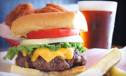 American Food at Burgers-N-Beer (Up to 53% Off). Three Options Available.