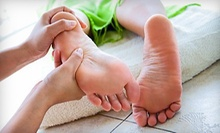 One or Two Reflexology Treatments with Foot-Detox Sessions at Changing Lives (Up to 58% Off)
