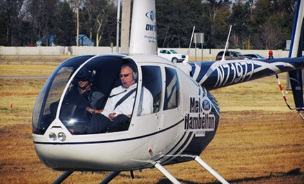 $950 for 12 Weeks of Helicopter Ground School with Discovery Flight and Books from DWTA Helicopters ($2,600 Value)