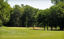18-Hole Weekday or Weekend Golf Outing with Cart for Two at The Bluffs Golf Course in Vermillion (Half Off)