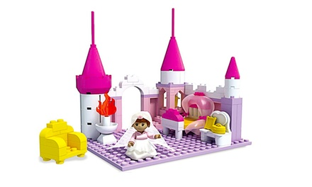 Princess Palace Toy Building Blocks (175-Piece)