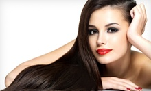 Haircut with Blow-Dry and Style, Full Highlights, or Brazilian Blowout at Hair To Dye For (Up to 72% Off)