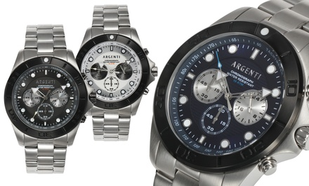 Argenti Horizon Collection Men's Chronograph Watches