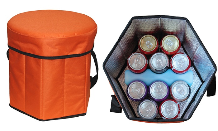 Game day cooler seat groupon for 12 in 1 game table groupon