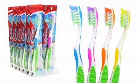 12-Pack of Handy Solutions Oral Care Soft Toothbrushes