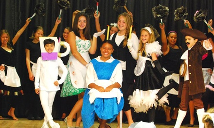 Kids' Two-Week Musical Theater Camp at Performing Arts Workshops (Up to 50% Off). Nine Locations Available.