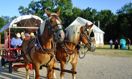 Visit for Two or Four to Chisholm Trail Museum (50% Off)