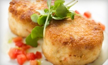 $10 for $20 Worth of Seafood, Pasta, and Steak at Blue Fins Bistro
