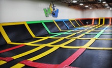 Two or Four Open-Jump Play Times at FLIPnOUT Fun Centers (Up to 53% Off)