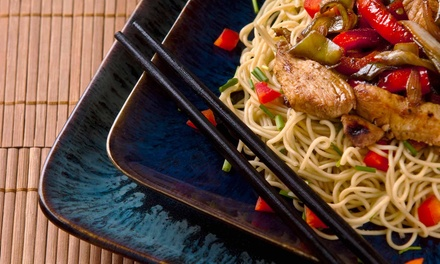 $14.99 for Lunch Buffet for Two at Asian Wok 'n' Roll (Up to $29.98 Value)