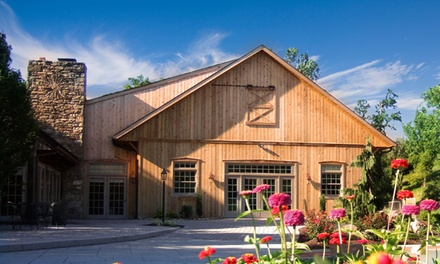 groupon daily deal - 1-Night Stay for Two at Glasbern Inn in Lehigh Valley, PA. Valid for Sunday–Thursday Check-In. Combine Up to 4 Nights.