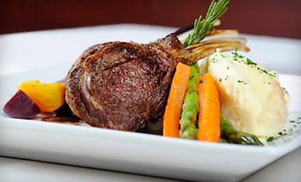 Four-Course Upscale American Dinner for Two or Four with Cocktails and Wine at Christopher's On Lincoln (Up to 57% Off)
