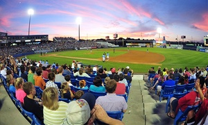 $7 For A Wilmington Blue Rocks Minor League Baseball Game  On August 3, 5, 12, 17, Or 27 (up To $13.50 Value)