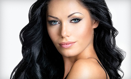 Haircut and Conditioner with Optional Color or Partial or Full Highlights at The Grove Salon (Up to 74% Off)