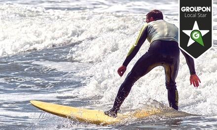 We Surf — Ericeira: 3h de aulas de surf para uma, duas ou quatro pessoas desde 16€
