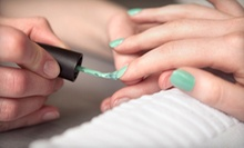 One or Three No-Chip Shellac Manicures from Amanda Fiege at James Ross Salon (Up to 53% Off)