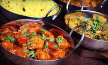 Weekday Indian Lunch Buffet for Two or Multi-Course Prix Fixe Meal with Dessert for Two at The New Nupur (Half Off)