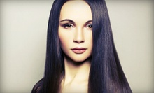 One or Two Keratin Straightening Treatments at Ted's Hair Studio (Up to 72% Off)